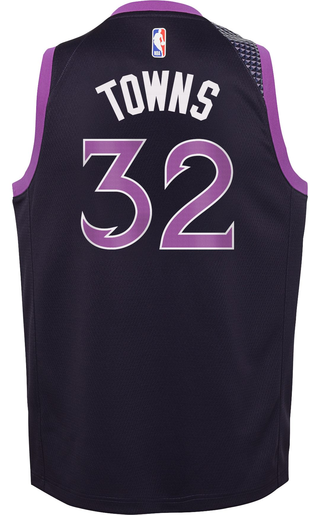 c306a5bd542 Nike Youth Minnesota Timberwolves Karl-Anthony Towns Dri-FIT City Edition  Swingman Jersey 3