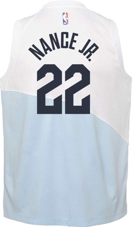 75fa9f11753 Nike Youth Cleveland Cavaliers Larry Nance Jr. Dri-FIT Earned Edition  Swingman Jersey. noImageFound. Previous. 1. 2. 3