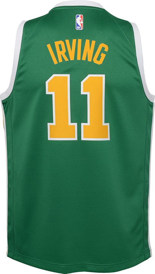 143e4badf8b Nike Youth Boston Celtics Kyrie Irving Dri-FIT Earned Edition Swingman  Jersey. noImageFound. Previous. 1. 2. 3