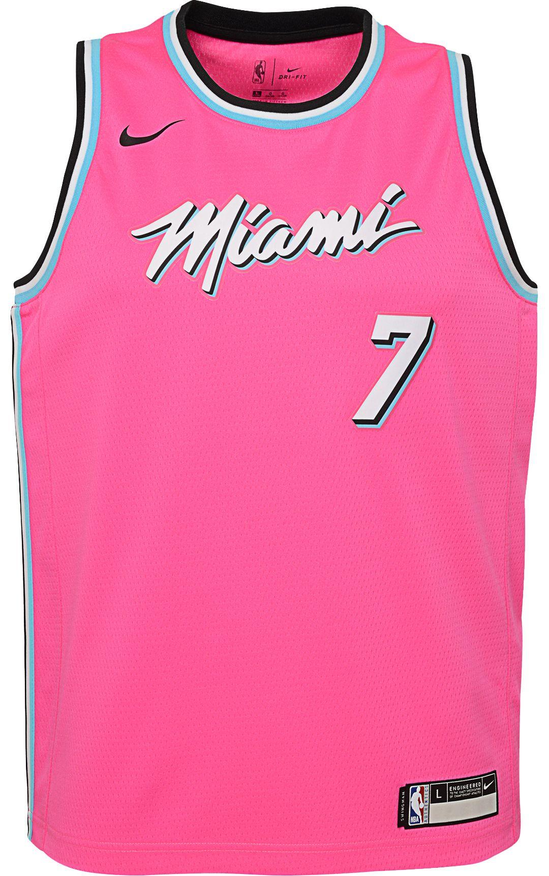 412aef04cb8 Nike Youth Miami Heat Goran Dragic Dri-FIT Earned Edition Swingman Jersey 2