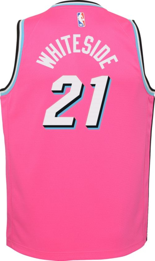 af88f051388 Nike Youth Miami Heat Hassan Whiteside Dri-FIT Earned Edition Swingman  Jersey. noImageFound. Previous. 1. 2. 3