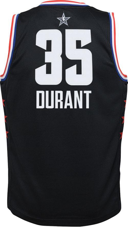 Jordan Youth 2019 NBA All-Star Game Kevin Durant Black Dri-FIT ... 2031ea54a