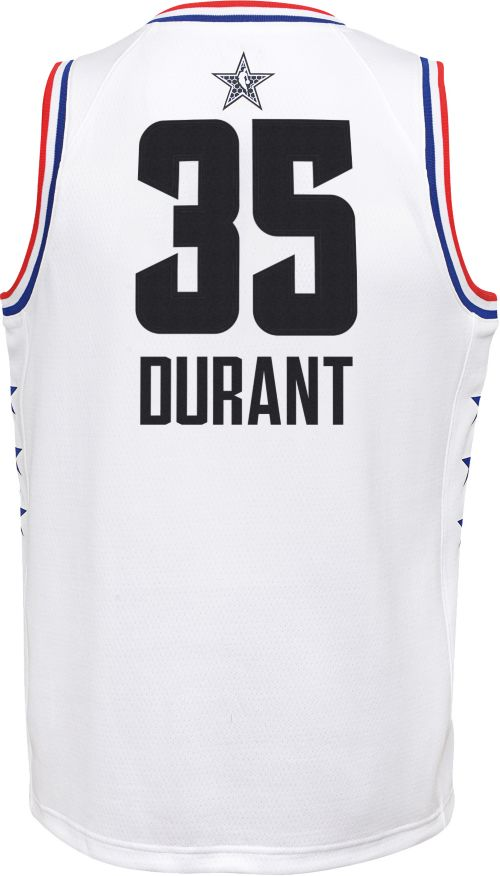 d2033af16 Jordan Youth 2019 NBA All-Star Game Kevin Durant White Dri-FIT Swingman  Jersey. noImageFound. Previous. 1. 2. 3