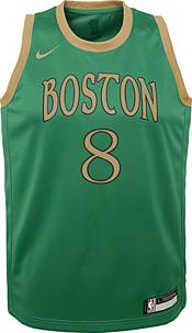 Nike Youth Boston Celtics Kemba Walker #8 Green Dri-FIT Swingman Jersey product image
