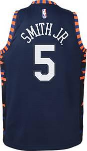 Nike Youth New York Knicks Dennis Smith Jr. Dri-FIT City Edition Swingman Jersey product image