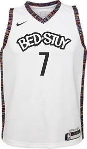 Nike Youth Brooklyn Nets Kevin Durant #7 White Dri-FIT Swingman Jersey product image