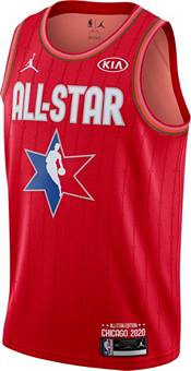 Jordan Youth 2020 NBA All-Star Game Russell Westbrook Red Dri-FIT Swingman Jersey product image