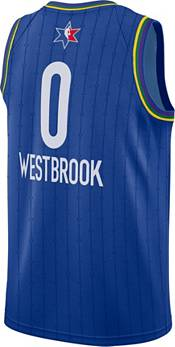 Jordan Youth 2020 NBA All-Star Game Russell Westbrook Blue Dri-FIT Swingman Jersey product image