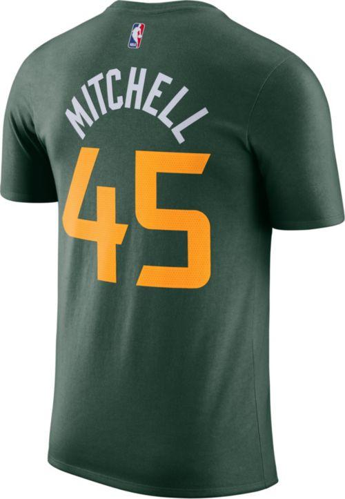 f104de3061e Nike Youth Utah Jazz Donovan Mitchell Dri-FIT Earned Edition T-Shirt.  noImageFound. Previous. 1. 2. 3