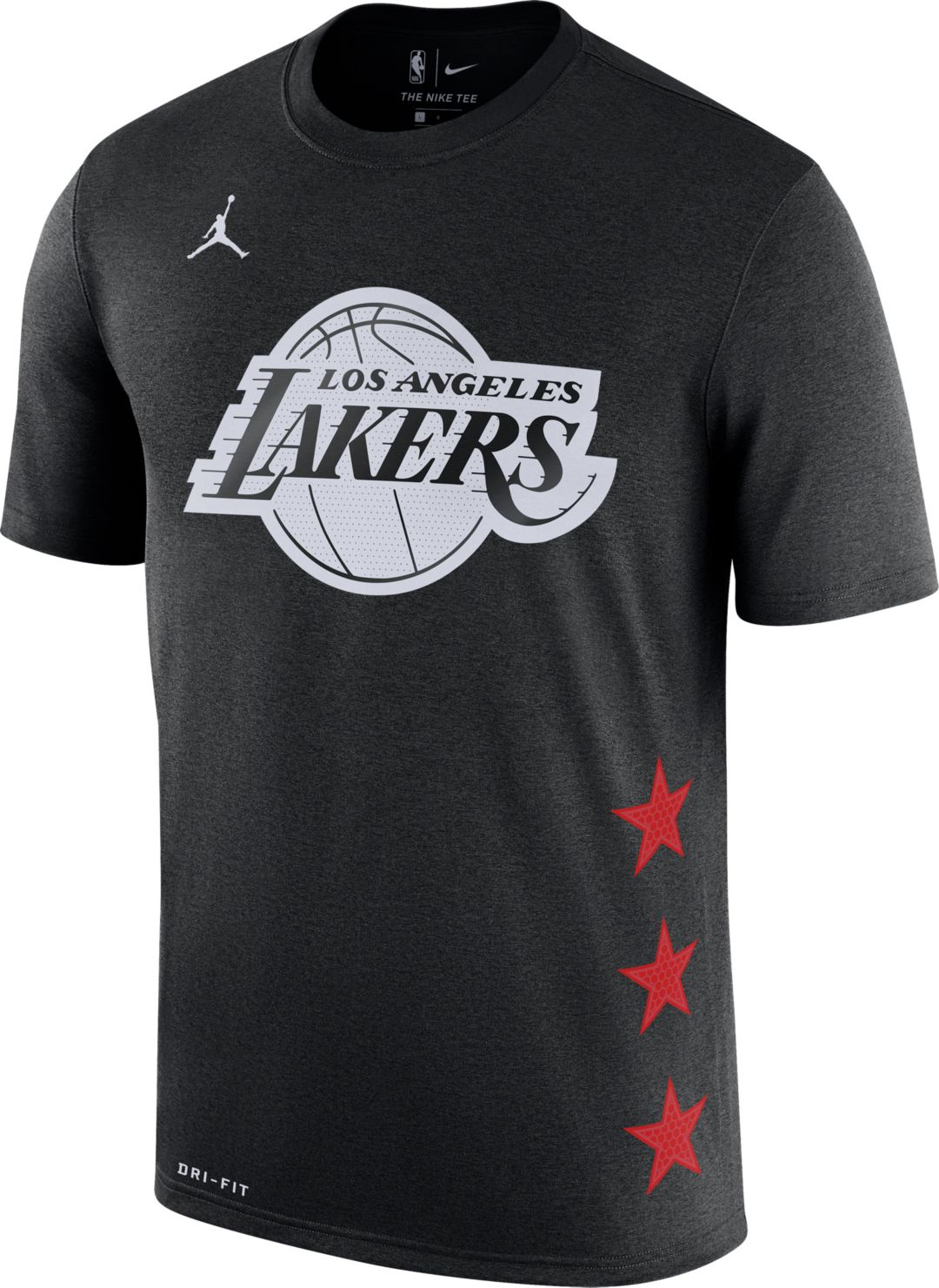 30e2c5a769a Jordan Youth 2019 NBA All-Star Game LeBron James Dri-FIT Black T ...