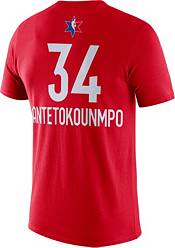 Jordan Youth 2020 NBA All-Star Game Giannis Antetokounmpo Dri-FIT Red T-Shirt product image
