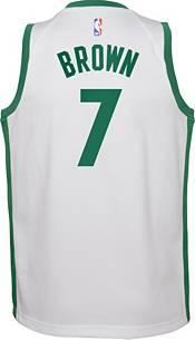 Boston Celtics #7 Jaylen BrownEarned Edition Swingman Jersey