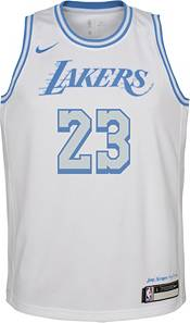 Nike Youth 2020-21 City Edition Los Angeles Lakers LeBron James #23 Dri-FIT Swingman Jersey product image