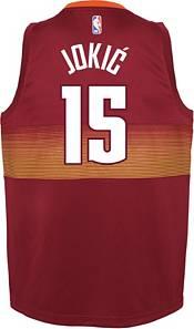 Nike Youth 2020-21 City Edition Denver Nuggets Nikola Jokic #15 Dri-FIT Swingman Jersey product image
