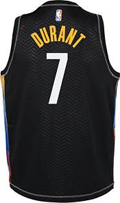 Nike Youth 2020-21 City Edition Brooklyn Nets Kevin Durant #7 Dri-FIT Swingman Jersey product image