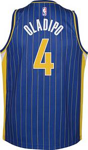 Nike Youth 2020-21 City Edition Indiana Pacers Victor Oladipo #4 Dri-FIT Swingman Jersey product image