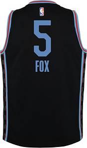 Nike Youth 2020-21 City Edition Sacramento Kings De'Aaron Fox #5 Dri-FIT Swingman Jersey product image