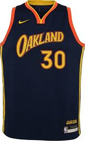 Nike Youth 2020-21 City Edition Golden State Warriors Stephen Curry #30 Dri-FIT Swingman Jersey product image