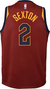 Nike Youth Cleveland Cavaliers Collin Sexton #2 Burgundy Dri-FIT Swingman Jersey product image