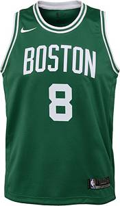 Nike Youth Boston Celtics Kemba Walker #8 Kelly Green Dri-FIT Swingman Jersey product image