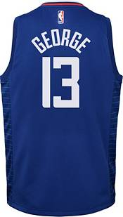 Nike Youth Los Angeles Clippers Paul George #13 Royal Dri-FIT Icon Jersey product image