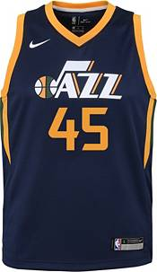Nike Youth Utah Jazz Donovan Mitchell #45 Navy Dri-FIT Swingman Jersey product image