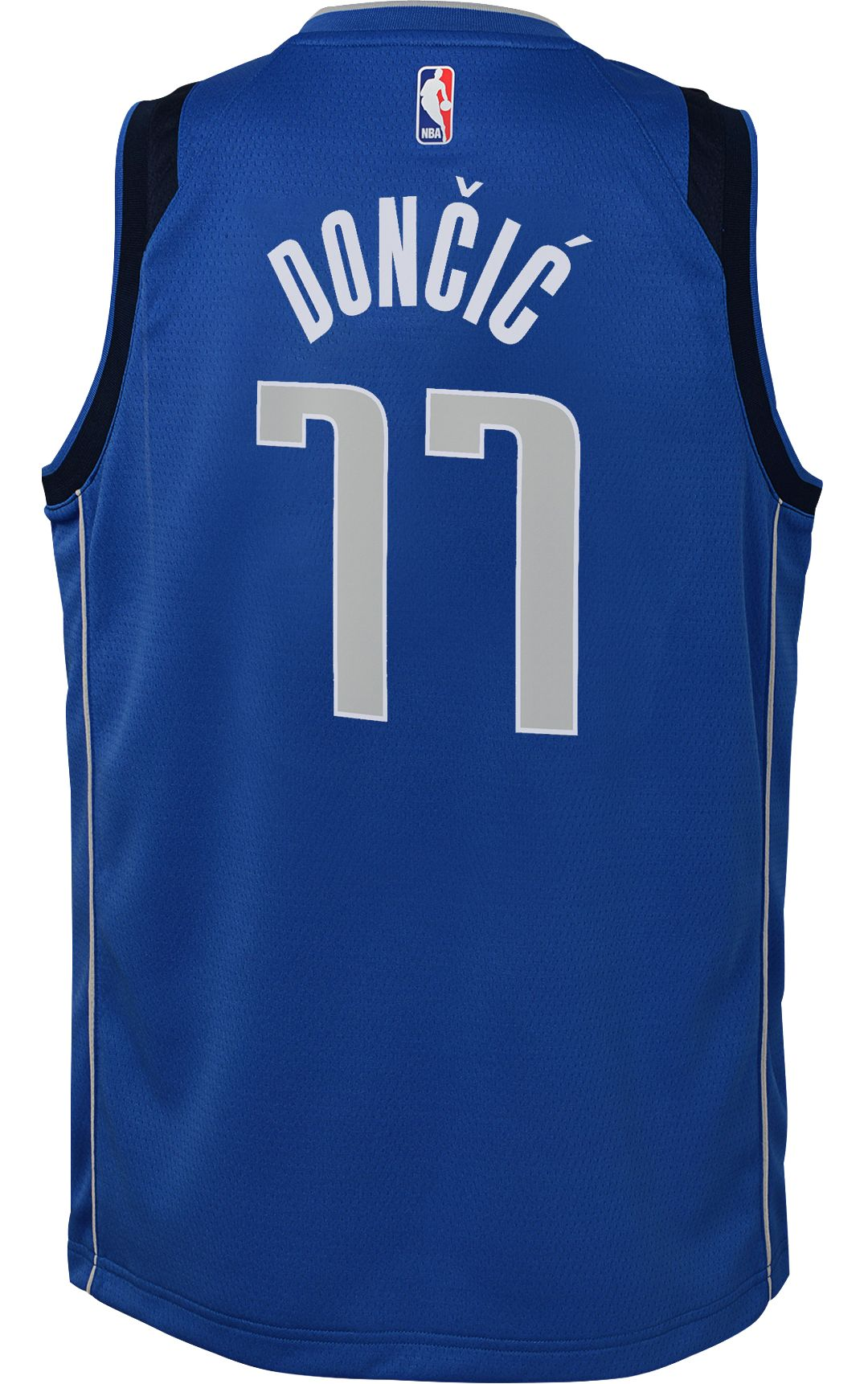 official photos 08874 7ba9b Nike Youth Dallas Mavericks Luka Doncic #77 Royal Dri-FIT Swingman Jersey