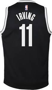 Nike Youth Brooklyn Nets Kyrie Irving #11 Black Dri-FIT Swingman Jersey product image