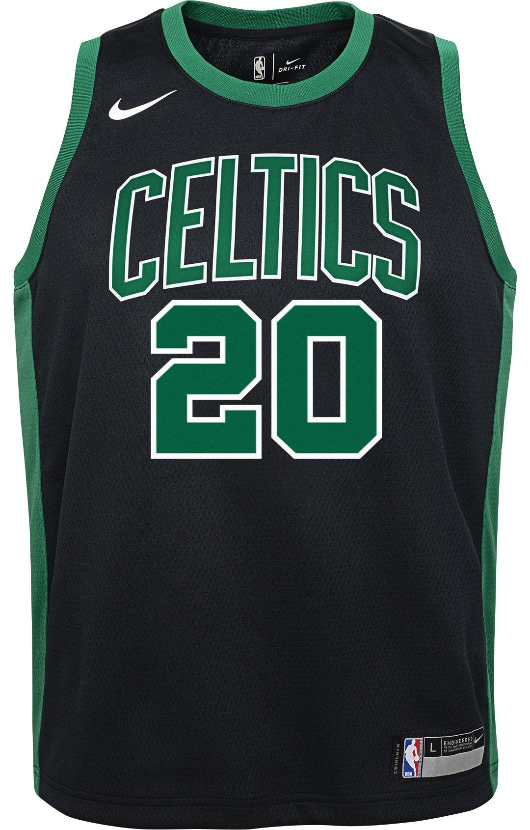 sports shoes 48386 65e93 Nike Youth Boston Celtics Gordon Hayward #20 Black Dri-FIT Swingman Jersey