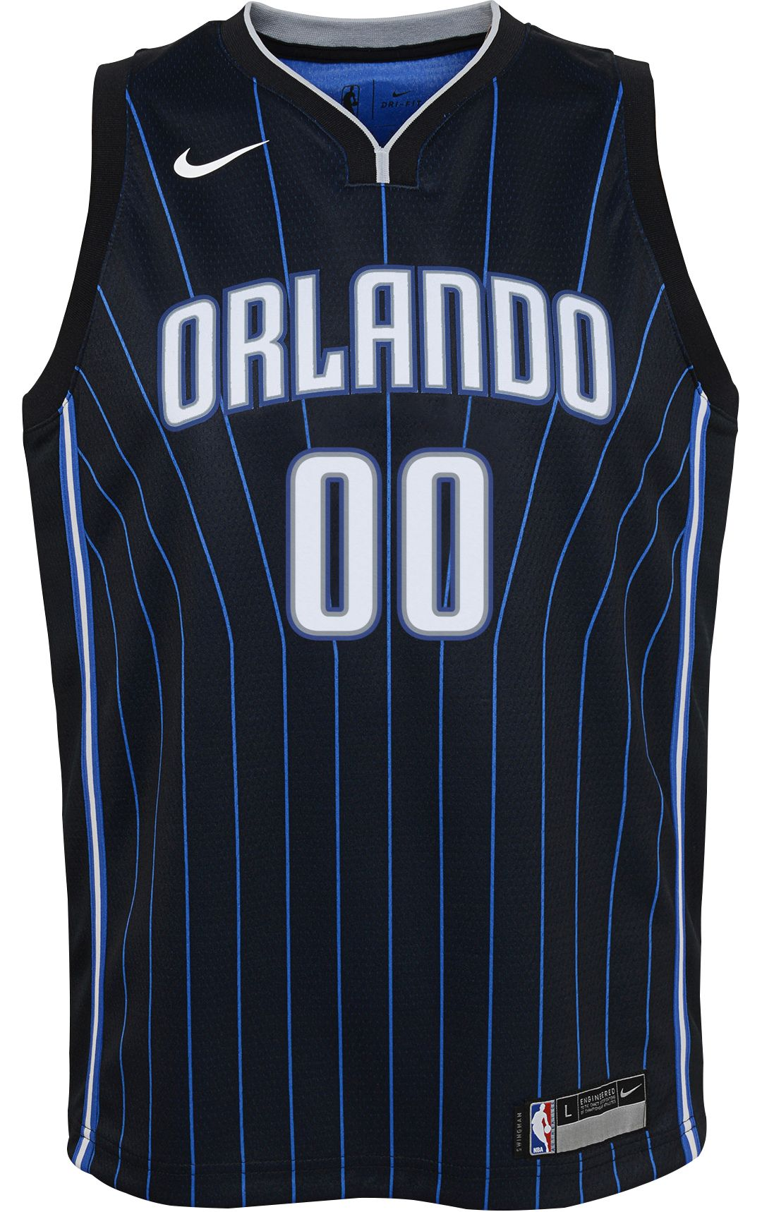 new product 1b69d b69a0 Nike Youth Orlando Magic Aaron Gordon #00 Black Dri-FIT Swingman Jersey