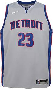 Nike Youth Detroit Pistons Blake Griffin #23 Grey Dri-FIT Statement Swingman Jersey product image