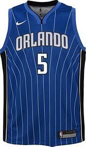 Nike Youth Orlando Magic Mohamed Bamba #5 Royal Dri-FIT Statement Swingman Jersey product image
