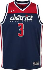 Nike Youth Washington Wizards Bradley Beal #3 Navy Dri-FIT Statement Swingman Jersey product image