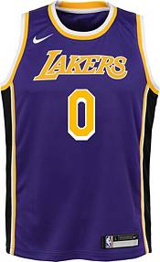 Nike Youth Los Angeles Lakers Kyle Kuzma #0 Purple Dri-FIT Statement Swingman Jersey product image