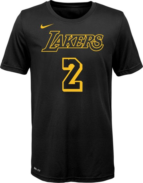 d8c8e0925 Nike Youth Los Angeles Lakers Lonzo Ball Dri-FIT City Edition T-Shirt.  noImageFound. Previous. 1. 2