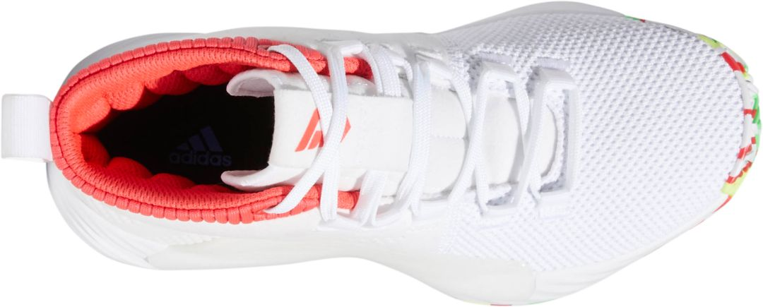 online retailer b1bfb dfed0 adidas Kids  Grade School Dame 5 Basketball Shoes 3
