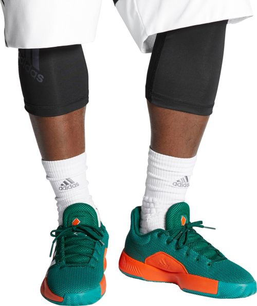 076d56acc46af6 adidas Men s Pro Bounce Madness Low 2019 Miami Hurricanes Basketball Shoes.  noImageFound. Previous. 1. 2. 3