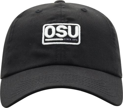 fa8f8a0f9152a OSU Men s Ohio State Buckeyes Broadcast Adjustable Black Hat ...