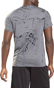 Reebok Men's Workout Ready Allover Print T-Shirt product image