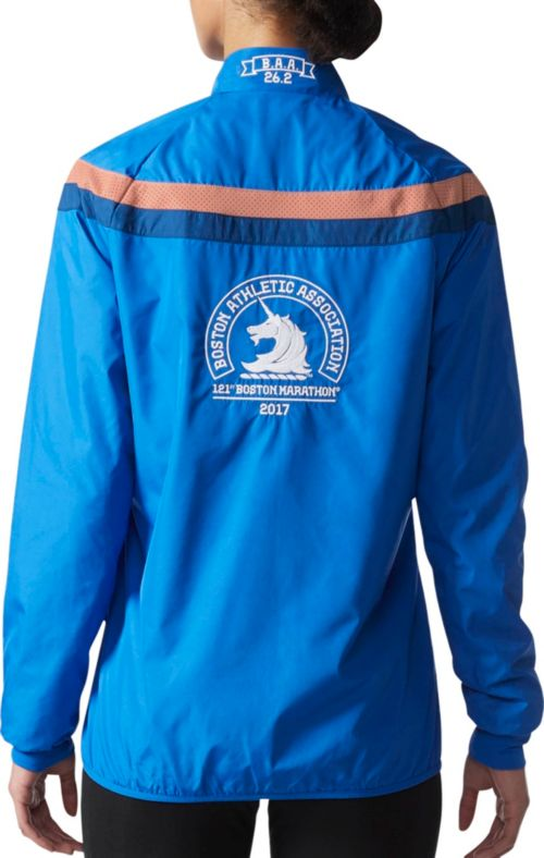 bdf48b1b0f6c adidas Women s Boston Marathon Celebration Running Jacket