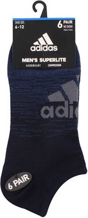 adidas Men's Superlite Badge of Sport No Show Socks 6-Pack product image