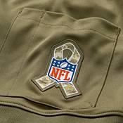 Nike Men's Salute to Service Cleveland Browns Odell Beckham Jr. #13 Olive Limited Jersey product image