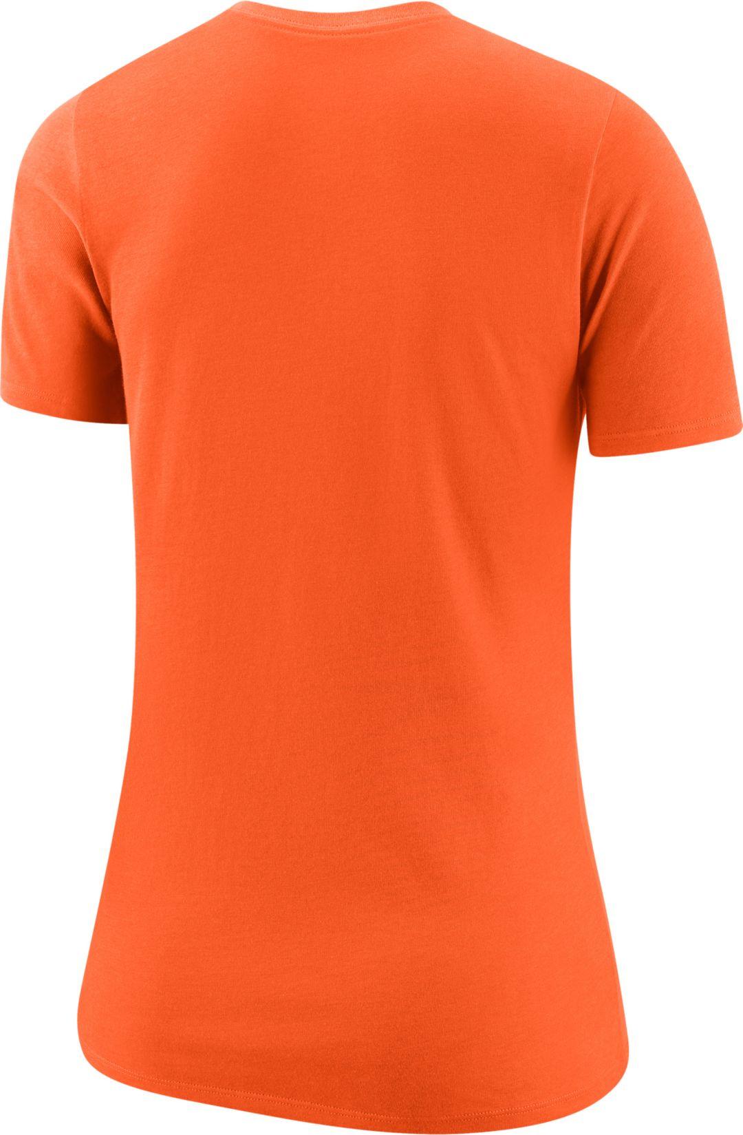 économiser 6a151 c8a91 Nike Women's Cincinnati Bengals Logo Dri-FIT Performance Orange T-Shirt