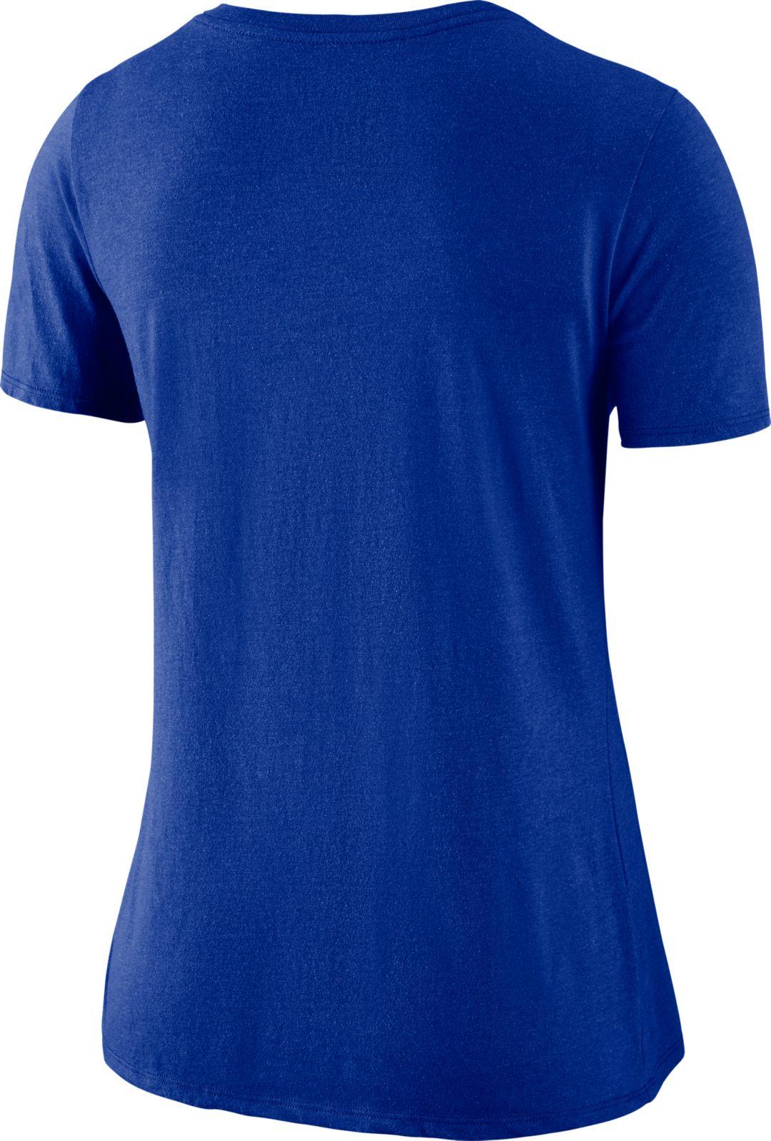 12b01ee0 Nike Women's Denver Broncos Tri-Blend Historic Royal T-Shirt