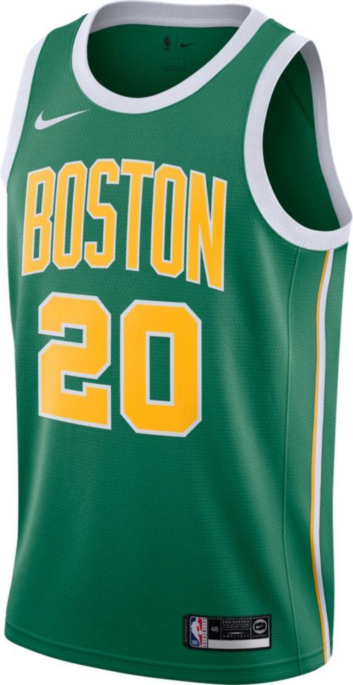 bfe10c56289 Nike Men s Boston Celtics Gordon Hayward Dri-FIT Earned Edition Swingman  Jersey