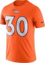 Nike Men's Denver Broncos Phillip Lindsay #30 Logo Orange T-Shirt product image