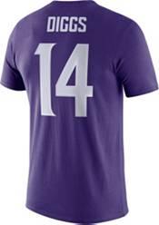 Nike Men's Minnesota Vikings Stefon Diggs #14 Logo Purple T-Shirt product image