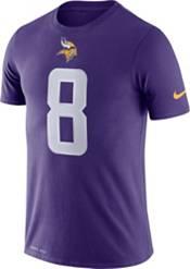 Nike Men's Minnesota Vikings Kirk Cousins #8 Logo Purple T-Shirt product image