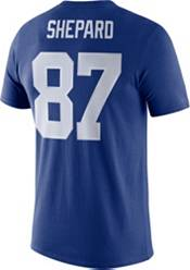 Nike Men's New York Giants Sterling Shepard #87 Logo Royal T-Shirt product image