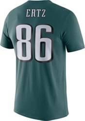 Nike Men's Philadelphia Eagles Zach Ertz #86 Logo Green T-Shirt product image